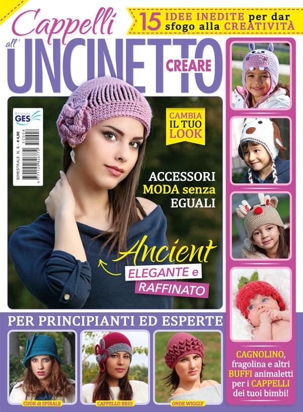 """Creare n. 8 """"Cappelli all uncinetto""""  040387c3387f"""